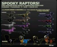 BRDMRT Spooky Raptor voucher - Macaw RARE