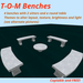 T-O-M Benches