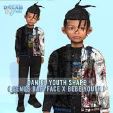Daniel Youth Shape (genus babyface + bebe youth)