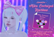 NamiiChu ~ Mika Oversized hairbow - Fatpack
