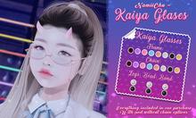 NamiiChu ~ Kaiya Glasses - FATPACK