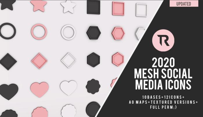 [TR] Social Media Icons