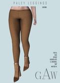 GAW Paley Leggings Brown
