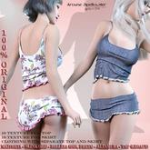 bag Top and Skirt Magnolia *Arcane Spellcaster*