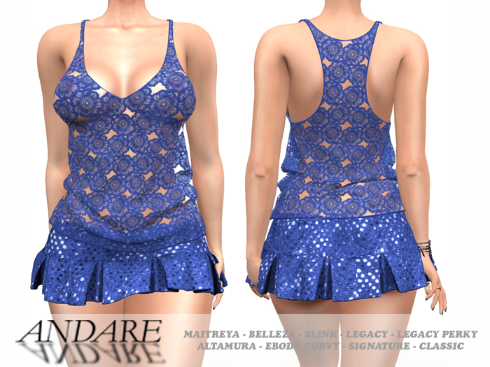 Andare - Kay Outfit Blue