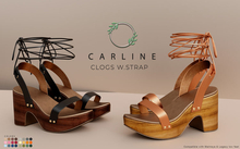 Ohemo - Carline clogs w. strap - FATPACK (Add me)