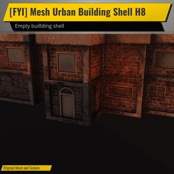 [FYI] Mesh Urban Building Shell H8