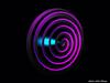 Mesh Hypnotic Spiral 3D design