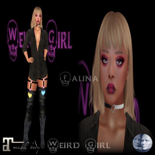 Weird Girl Fauna/Genus Babyface