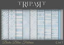 .::TRIPART::.Boho Blue Fabrics Set 1
