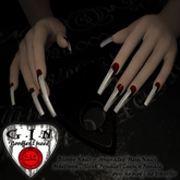 G.I.N - Bloody Animated Mesh Nails *Add* (or Wear)