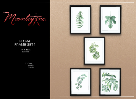 Moonley Inc. - Flora Frame Set 1