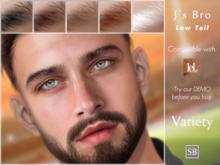 Eyebrows, LeLutka Evolution: JsBro.LowTail.Variety