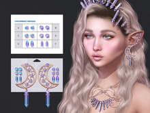 Crystalline Earrings by Sweet Thing