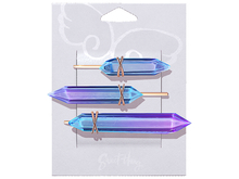 Crystalline Hairclips by Sweet Thing