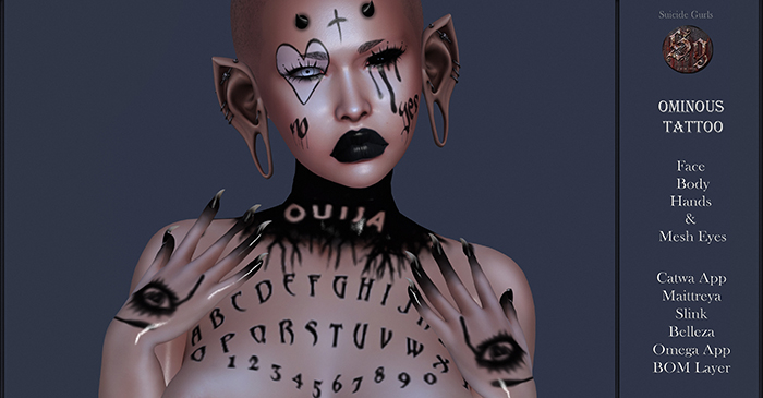Suicide Gurls - Ominous Tattoo & Eyes