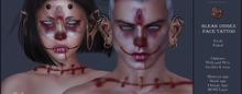 Suicide Gurls - Bleak Unisex Face Tattoo