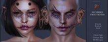 Suicide Gurls - Siv Unisex Face Tattoo
