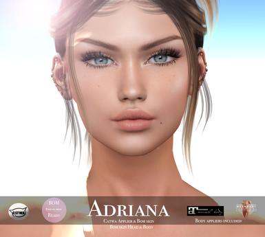 Wear me Toffee Adriana skin Bom, Catwa applier