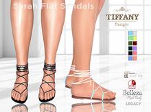 ::TD:: Sarah Flat Sandals - Ankle
