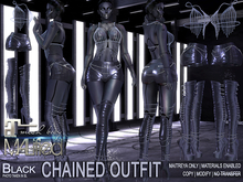 MALified - Chained Outfit (Black): Maitreya Only