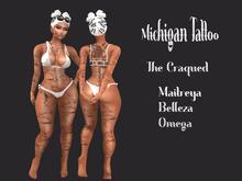 Michigan Tattoo The Craqued