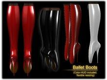 *KaS* Ballet Boots - Inclusive ColorHUD
