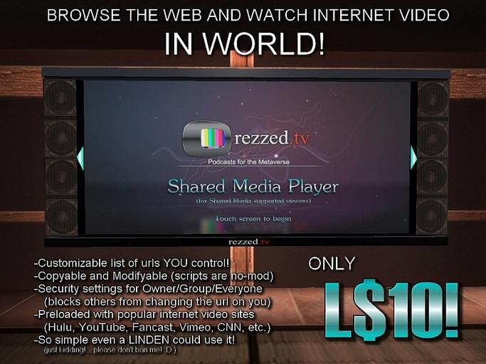 Rezzed TV Media Browser