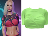 !PCP :: Vega Shirt [Lime]