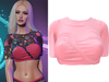!PCP :: Vega Shirt [Light Pink]