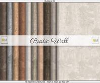 Rustic Wall Builders Kit 10 Seamless Textures NM