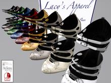 Lacy Apparel Flapper Shoe 9 colours Belleza, Maitreya & sLink