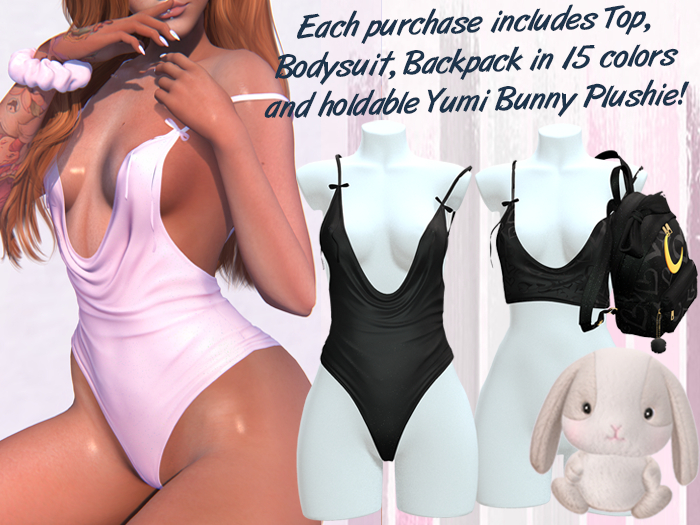 Lunar - Yumi Top & Bodysuit - Black