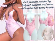 Lunar - Yumi Top & Bodysuit - Bubblegum Pink (Boxed)