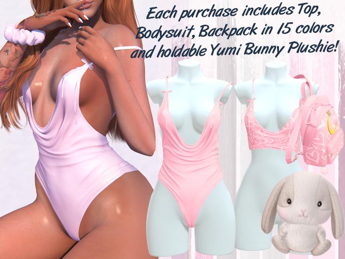 Lunar - Yumi Top & Bodysuit - Dawn