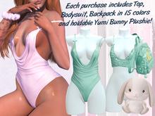 Lunar - Yumi Top & Bodysuit - Spectra Green (Boxed)