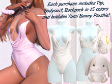 Lunar - Yumi Top & Bodysuit - White