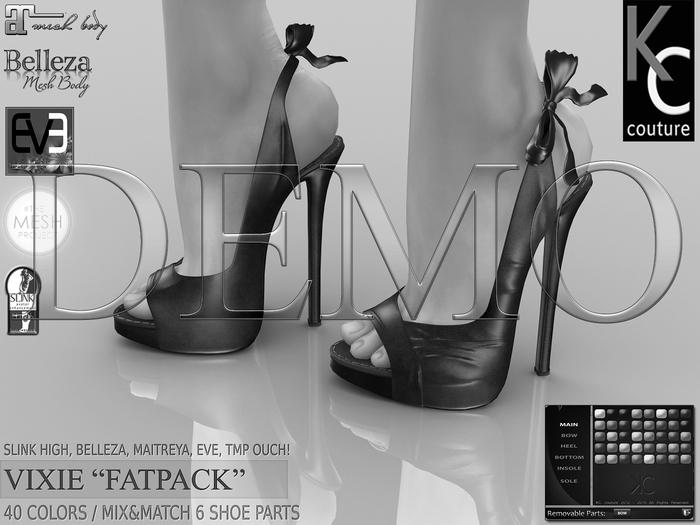 *DEMO* -KC- VIXIE Heels - Slink Maitreya Belleza Legacy EVE