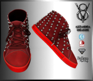 +V8-SHOP-ALEXANDRIA-RED+SNEAKERS+