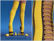[Enchante'] - Hailey Boots - FATPACK HUD