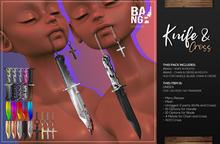 #BANG . Knife & Cross *Wear*