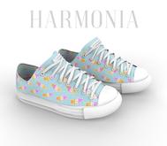 * Harmonia Cat Pastel Low Sneakers - Maitreya Flat
