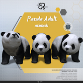 [Rezz Room] Box Panda Adult Animesh (Companion)