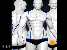 KAJU - Simon Trunk - Blue  (Add and Touch)