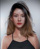 Saori Shape -  LeLUTKA Ryn Head (Lelutka Evolution)