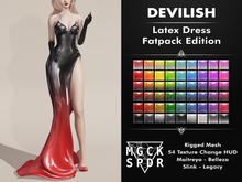 MGCK-SPDR : DEVILISH Latex Dress - Fatpack