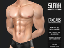 SLAM // fake abs // BOM tattoo layer add-on (for any smooth skin)