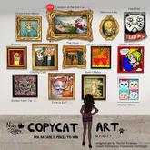(NO) CopyCat Art - Vincent Van Meow