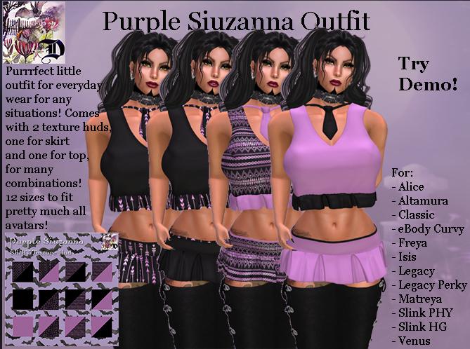Purple Siuzanna Outfit (ADD ME)