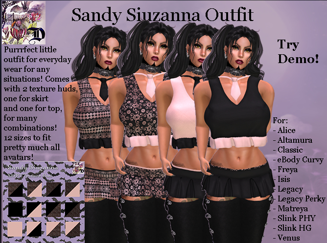 Sandy Siuzanna Outfit (ADD ME)